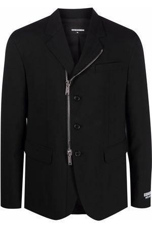 Dsquared2 Zip-detail blazer