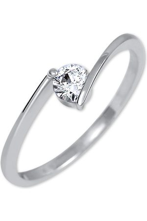 Brilio Zásnubní prsten z bílého zlata 226 001 00995 07 51 mm