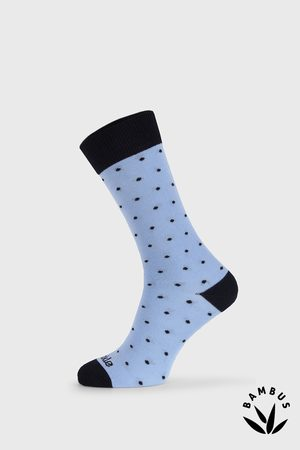 Fusakle Muži Ponožky - Společenské ponožky Gentleman Blankytný