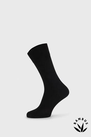 Bellinda Černé bambusové ponožky Winter