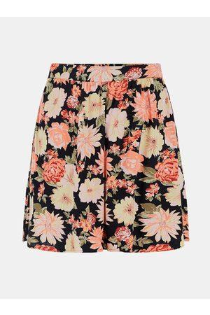 Pieces Růžovo- květovaná sukně Nya