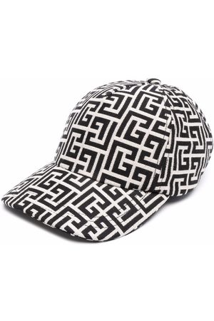Balmain Monogram-print baseball cap