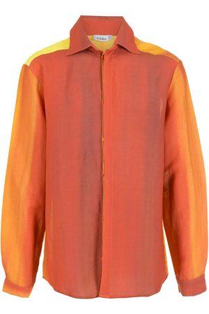 AMIR SLAMA Printed long-sleeve shirt