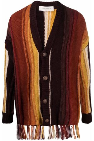 Golden Goose Striped knitted cardigan