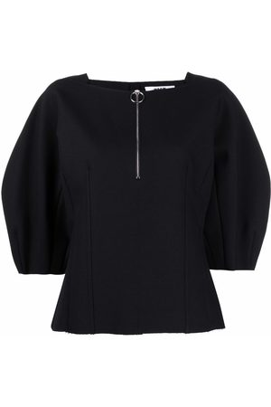 Msgm Stretch-fit puff sleeve blouse