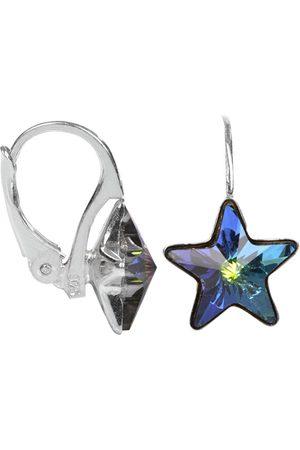 Troli Dívčí stříbrné náušnice Star