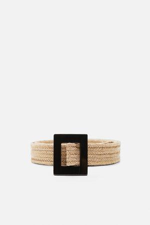 Zara Ženy Pásky - Pásek se čtvercovou přezkou