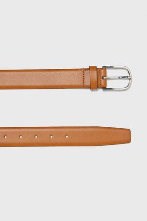 Zara Barevný kožený pásek