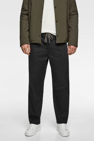 Zara široké kalhoty s ohrnutím