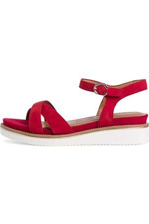 Tamaris Dámské kožené sandály