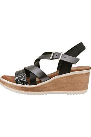 Marila Dámské kožené sandále