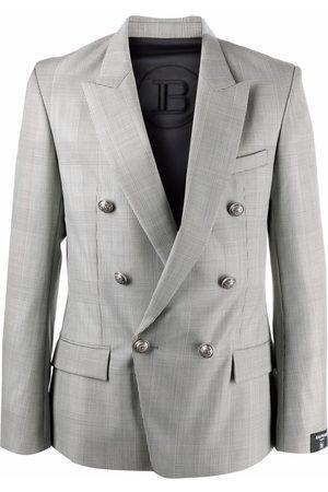 Balmain Muži Saka - Peak-lapel double-breasted blazer