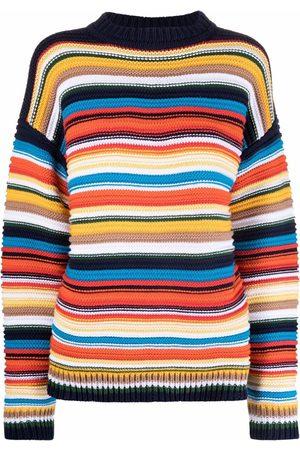 Victoria Victoria Beckham Stripe-pattern cotton sweater