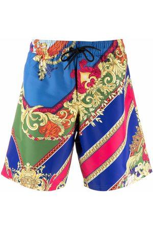 Versace Medusa Renaissance-print swim shorts
