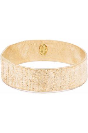 Jean Paul Gaultier Pre-Owned 2000s textured-finish bangle bracelet