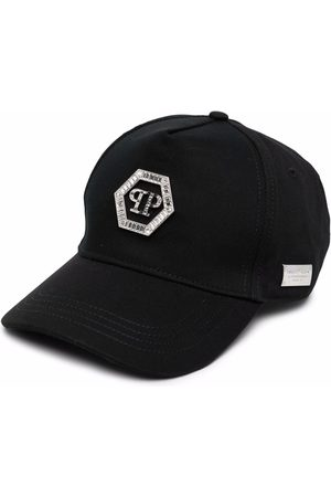 Philipp Plein Crystal-embellished baseball cap