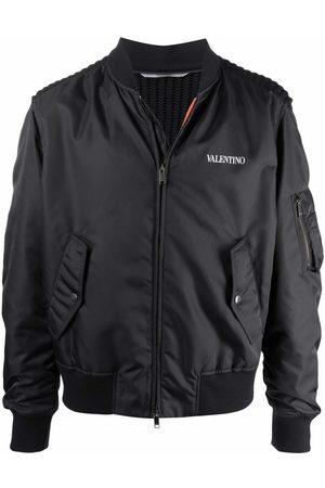 VALENTINO Logo-print bomber jacket