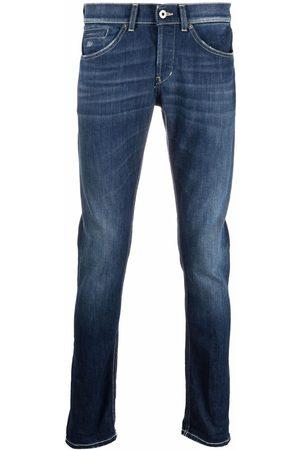 Dondup Muži Slim - Mid-rise slim-fit jeans