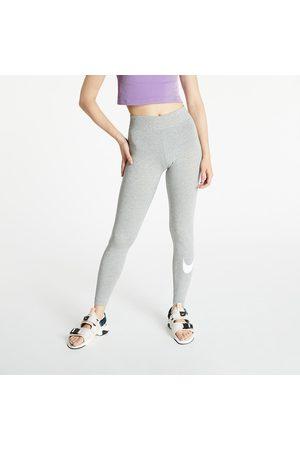 Nike Sportswear W Essential GX Mr Legging Swoosh DK Grey Heather/ White