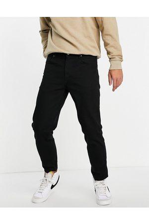 ASOS No fade black classic rigid jeans