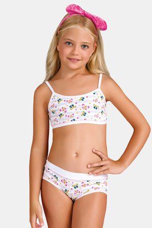 JADEA Dívčí komplet kalhotek a topu Butterfly I