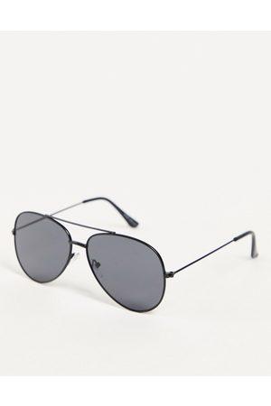 Only & Sons Muži Sluneční brýle - Aviator sunglasses in black