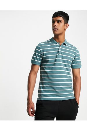 Only & Sons Polo in turquoise-Green