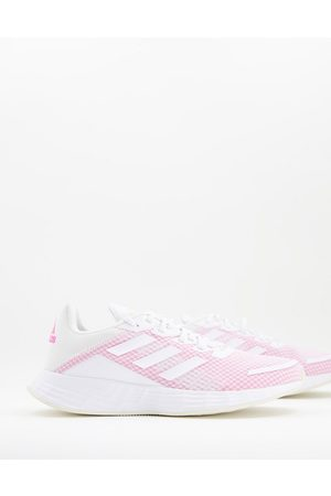 adidas Ženy Sportovní boty - Adidas Duramo trainers in white and pink