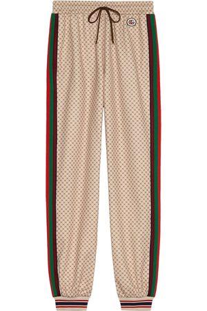 Gucci Ženy Tepláky - Interlocking G-print sweatpants