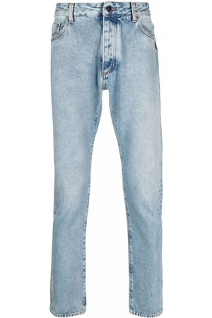 Palm Angels Logo print slim-fit jeans