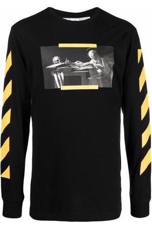 Off-White Caravaggio-print sweatshirt