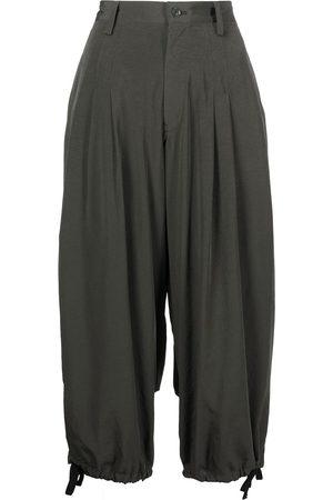 Y's High-waisted drop-crotch pants