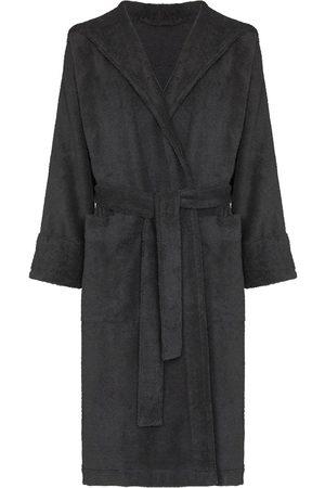 Tekla Belted hooded bathrobe