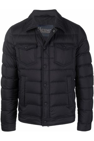 HERNO Long-sleeve down-feather jacket