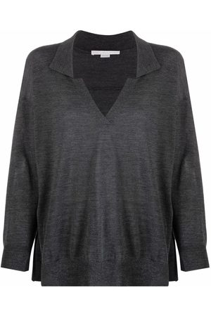 Stella McCartney V-neck knitted polo top