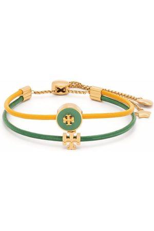 Tory Burch Kira two-tone bracelet
