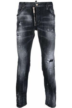 Dsquared2 Muži Slim - Mid-rise slim-cut jeans