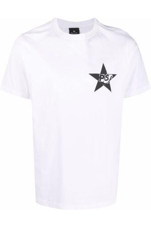 Paul Smith Muži S krátkým rukávem - Star logo printed T-shirt