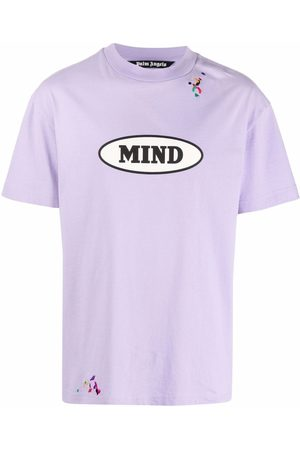 Palm Angels Muži S krátkým rukávem - X Missoni MIND logo print embroidered T-shirt