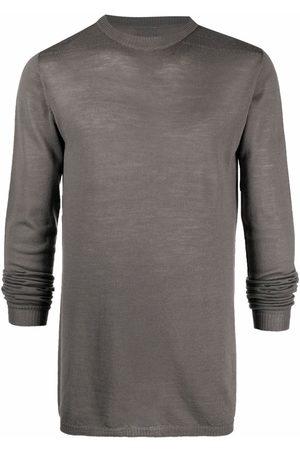 Rick Owens Muži S dlouhým rukávem - Long-sleeved wool sweater