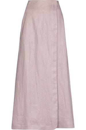 Bondi Born Seville high-waisted maxi skirt