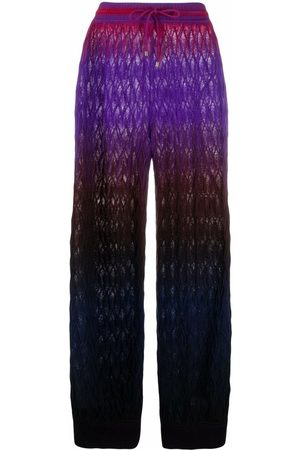 Missoni Gradient signature-knit track-pants