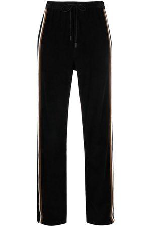 Dsquared2 Ženy Tepláky - Side-stripe corduroy track pants