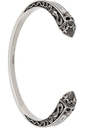 Alexander McQueen Skull embellished cuff bracelet