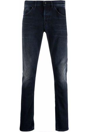 Dondup Muži Skinny - Faded slim-fit jeans