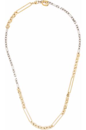 Givenchy Mixed link chain necklace