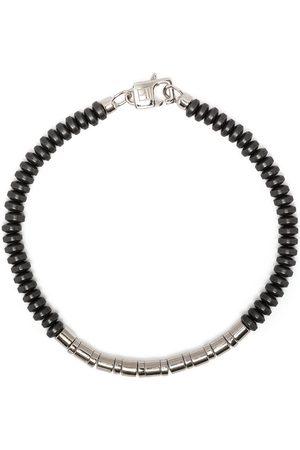 Tateossian Mineral Bamboo beaded bracelet