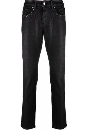 John Richmond Muži Slim - Studded slim fit jeans