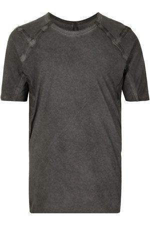 ISAAC SELLAM EXPERIENCE Acid-wash short-sleeved T-shirt
