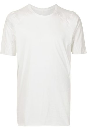 ISAAC SELLAM EXPERIENCE Panelled cotton T-shirt